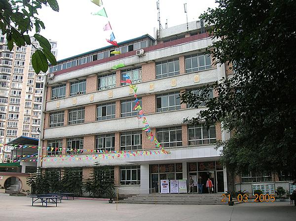原轻工技校校区教学楼